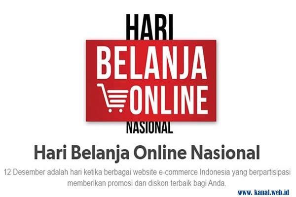 Perayaan Hari Belanja Online Nasional
