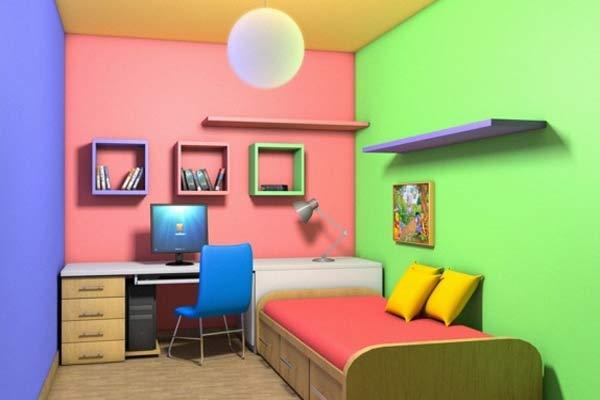 Memilih Warna Cat Untuk Ruangan Rumah