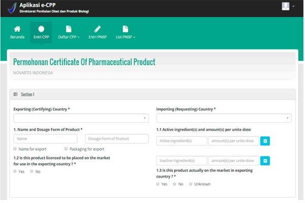 Percepat Ekspor Obat dengan Aplikasi e-CPP