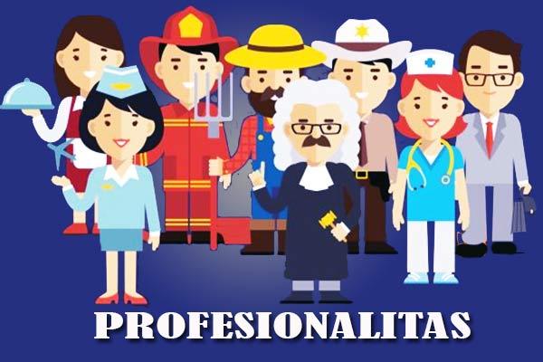 Pengertian Profesionalitas