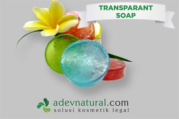 Produk Sabun Transparan ADEV Natural Indonesia