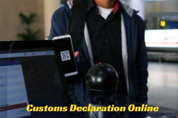 Customs Declaration Online