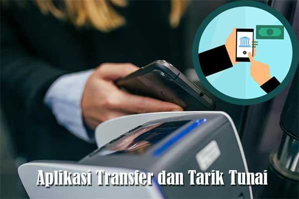 aplikasi transfer dan tarik tunai
