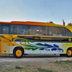 memilih bus priwisata