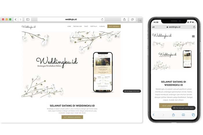 Undangan Pernikahan Online Murah