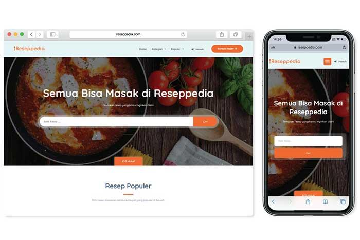 Reseppedia, Startup berbagi Resep Masakan Lengkap