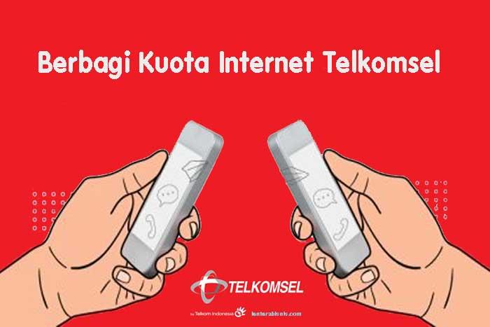 Berbagi Kuota Internet Telkomsel