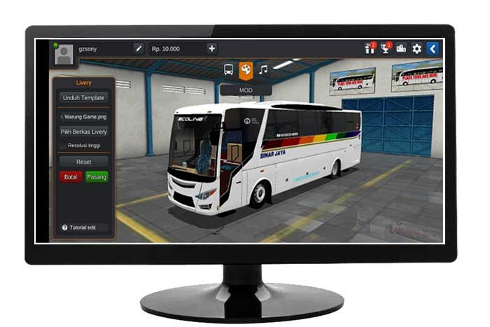 Download Mod Bussid Bus