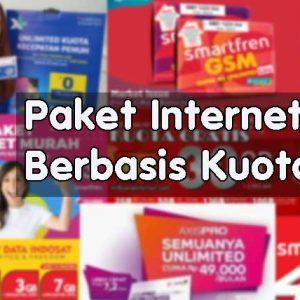 Paket Internet Berbasis Kuota