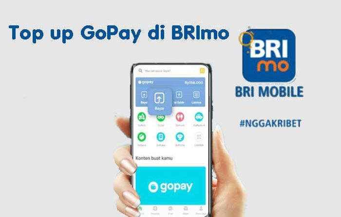 Top up GoPay BRImo